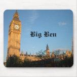 Cojín de ratón de Big Ben Alfombrillas De Raton
