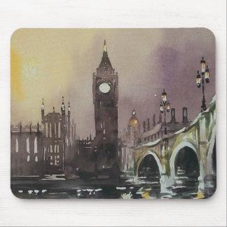 Cojín de ratón de Big Ben Londres Inglaterra Tapetes De Raton