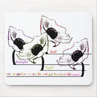 cojín de ratón de bold beautiful bright sweet alfombrillas de ratones