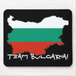 Cojín de ratón de Bulgaria del equipo Alfombrillas De Ratones