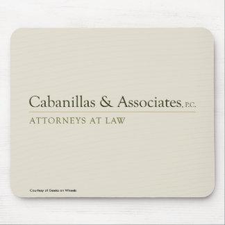 Cojín de ratón de Cabanillas y de los socios Alfombrillas De Raton