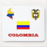 Cojín de ratón de COLOMBIA Tapete De Ratón