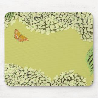 Cojín de ratón de color topo del Hydrangea Alfombrilla De Raton