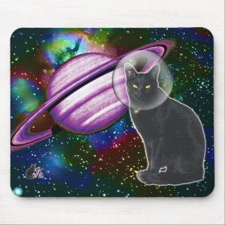 Cojín de ratón de Cosmo del Espacio-Gato Tapetes De Ratones