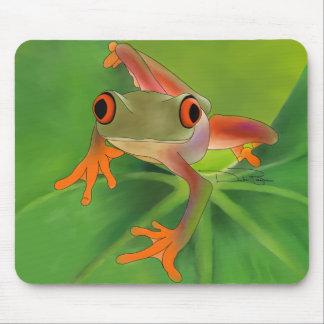 Cojín de ratón de Crazy Frog Tapete De Ratón