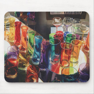 """Cojín de ratón de cristal del arte de la """"fascinac alfombrillas de ratón"""