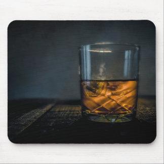 Cojín de ratón de cristal del whisky alfombrilla de ratón