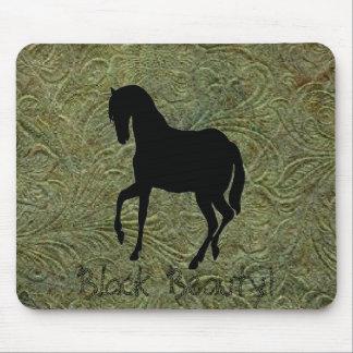 Cojín de ratón de cuero del diseño w/Horse de la i Mouse Pads