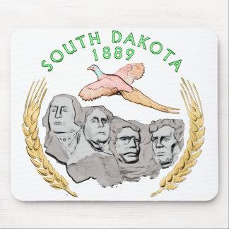 Cojín de ratón de Dakota del Sur Tapete De Raton