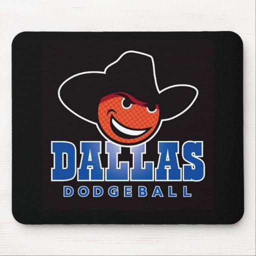 Cojín de ratón de Dallas Dodgeball Alfombrillas De Ratones