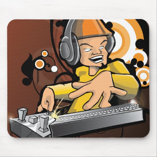 Cojín de ratón de DJ Alfombrilla De Raton