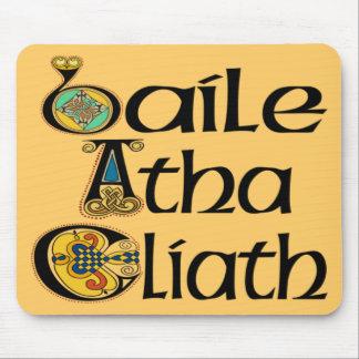 Cojín de ratón de Dublín (gaélico) Alfombrilla De Ratón