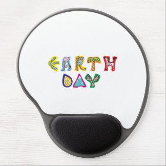 Cojín de ratón de encargo del Día de la Tierra col