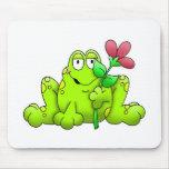 Cojín de ratón de Froggie Alfombrilla De Raton