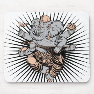 Cojín de ratón de Ganesh Tapetes De Raton