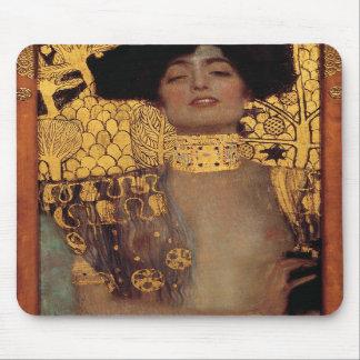 Cojín de ratón de Gustavo Klimt Judith Tapete De Ratón