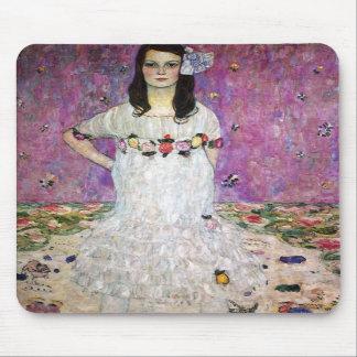 Cojín de ratón de Gustavo Klimt Mada Primavesi Tapete De Raton