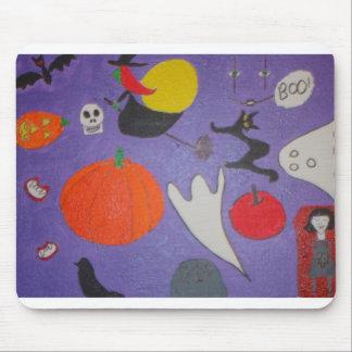 Cojín de ratón de Halloween Alfombrilla De Ratón