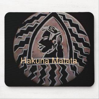 Cojín de ratón de Hapo Sasa Hakuna Matata Tapete De Raton