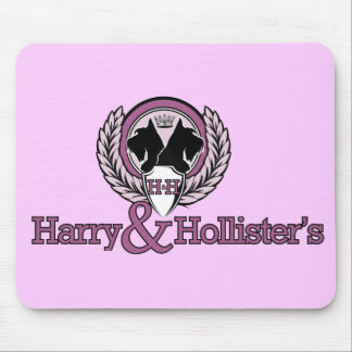 Cojín de ratón de Harry y de Hollister Tapetes De Raton