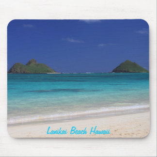 Cojín de ratón de Hawaii de la playa de Lanikai Alfombrillas De Ratones