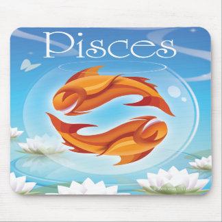 Cojín de ratón de Idolz Piscis 02 Alfombrillas De Ratones