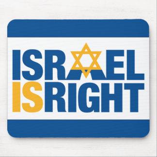 Cojín de ratón de Israel Isright Tapetes De Raton
