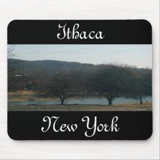 Cojín de ratón de ITHACA, NUEVA YORK Alfombrillas De Raton
