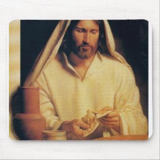 Cojín de ratón de Jesús #1 Tapetes De Ratones