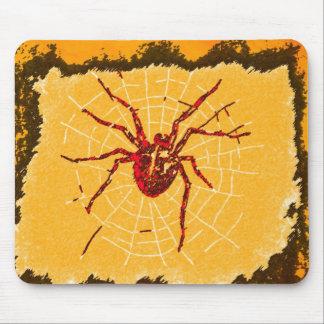 Cojín de ratón de la araña roja alfombrilla de ratones