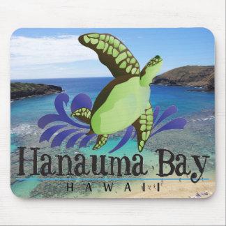 Cojín de ratón de la bahía de Hawaii Hanauma Tapete De Raton