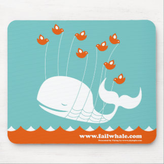 Cojín de ratón de la ballena del fall tapete de ratón