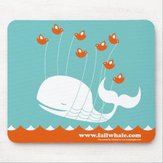 Cojín de ratón de la ballena del fall alfombrilla de ratones
