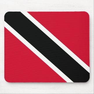 Cojín de ratón de la bandera de Trini Alfombrilla De Ratones