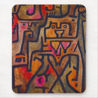 Cojín de ratón de la bruja del bosque de Paul Klee Alfombrilla De Ratones