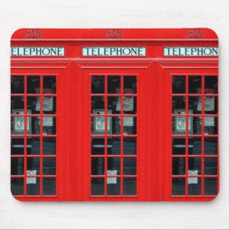 Cojín de ratón de la cabina de teléfono de Londres Mouse Pads