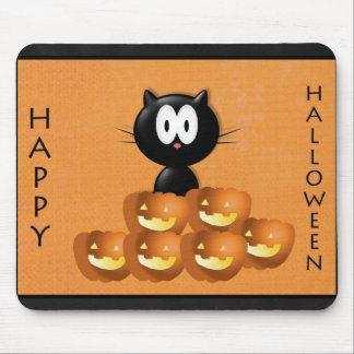¡Cojín de ratón de la calabaza de Halloween! Tapetes De Ratones