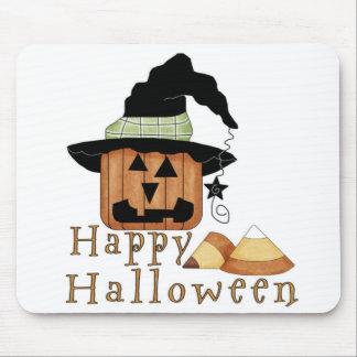 cojín de ratón de la calabaza de Halloween Alfombrilla De Raton