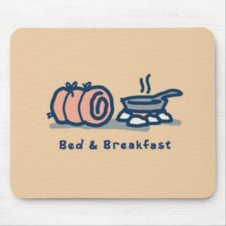 cojín de ratón de la cama y del desayuno alfombrillas de ratones