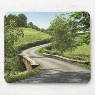Cojín de ratón de la carretera nacional tapetes de raton