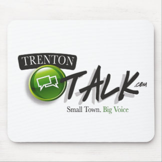 Cojín de ratón de la charla de Trenton Alfombrillas De Ratón