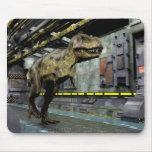 Cojín de ratón de la ciencia ficción de T-Rex Mousepad