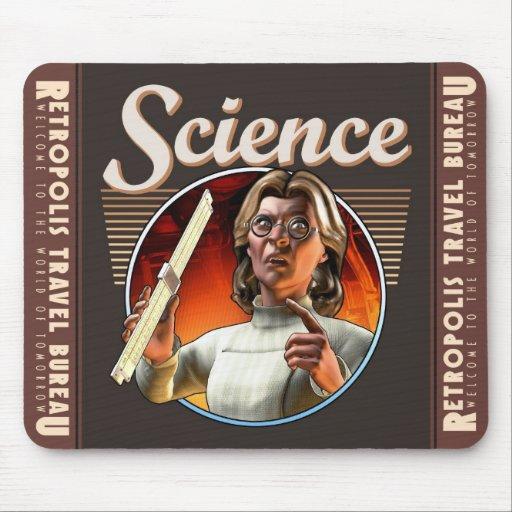 Cojín de ratón de la ciencia (regla de diapositiva mouse pads