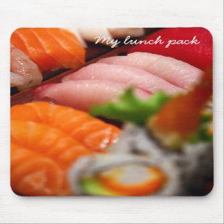 Cojín de ratón de la colección del sushi de Japón Tapete De Ratón