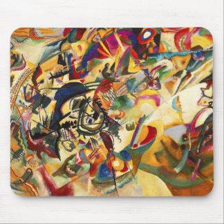 Cojín de ratón de la composición VII de Kandinsky Alfombrillas De Raton
