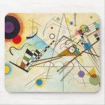 Cojín de ratón de la composición VIII de Kandinsky Tapete De Ratones