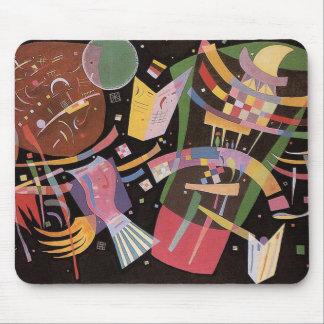 Cojín de ratón de la composición X de Kandinsky Tapetes De Raton