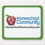 Cojín de ratón de la comunidad de Homeschool Alfombrillas De Ratones