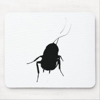 Cojín de ratón de la cucaracha tapete de ratones
