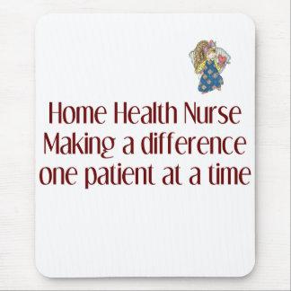 Cojín de ratón de la enfermera de asistencias alfombrillas de ratón